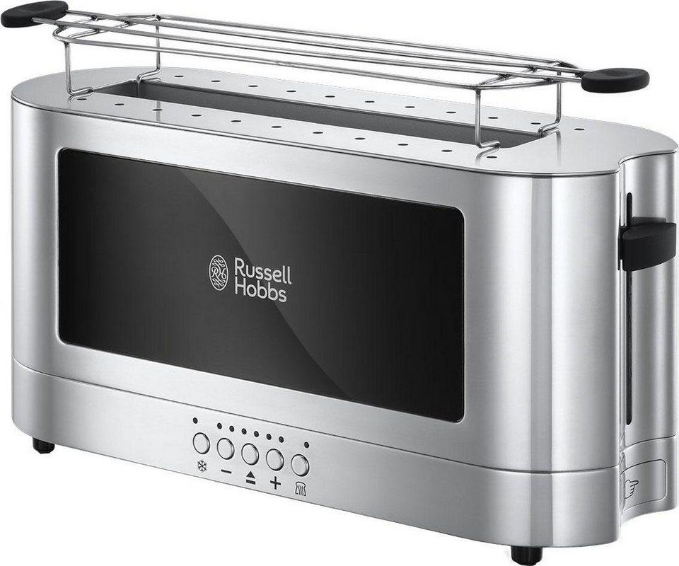 russell hobbs langschlitz toaster elegance 23380 56 glasdesign und edelstahl 1420 watt online. Black Bedroom Furniture Sets. Home Design Ideas