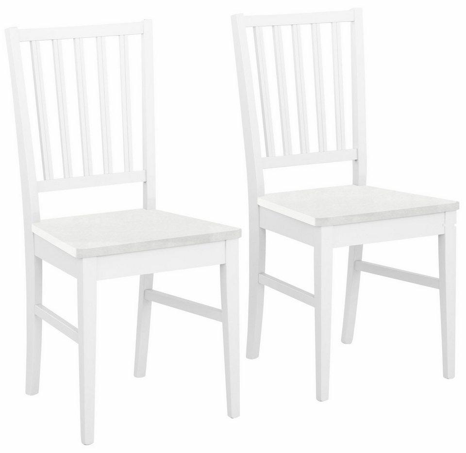 home affaire stuhl ruanda im 2er 4er oder 6er set wahlweise sitzfl che buche wei oder. Black Bedroom Furniture Sets. Home Design Ideas