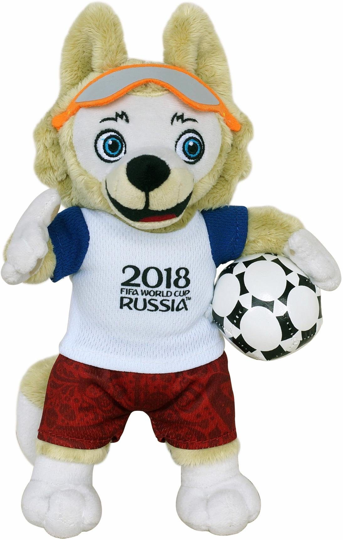 JOY TOY Plüschfigur, »FIFA 2018 Zabivaka™, 25 cm«