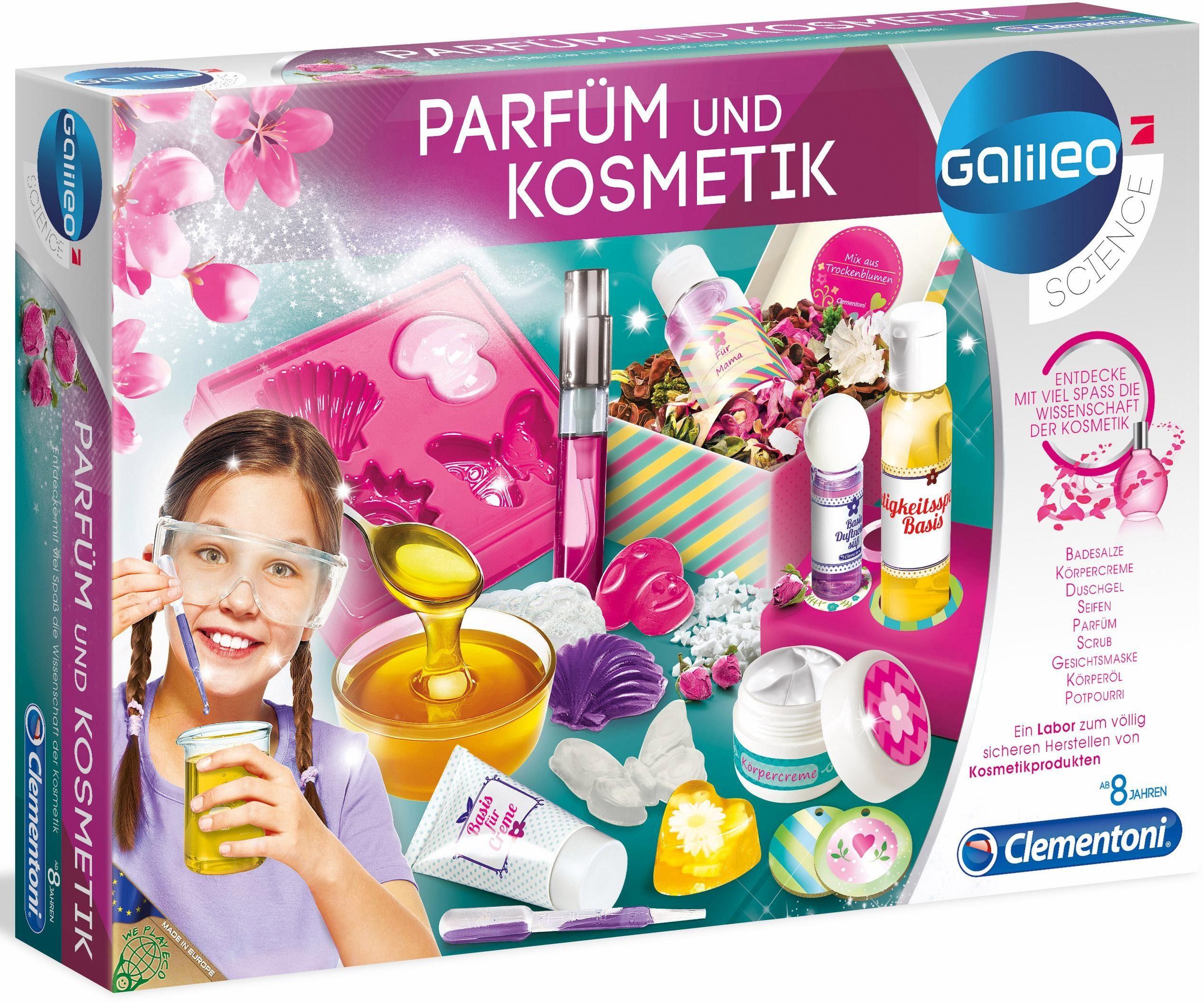 Clementoni Experimentierkasten, »Galileo Parfüm & Kosmetik«
