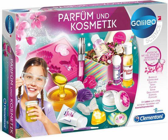Clementoni® Experimentierkasten »Galileo Parfüm & Kosmetik«