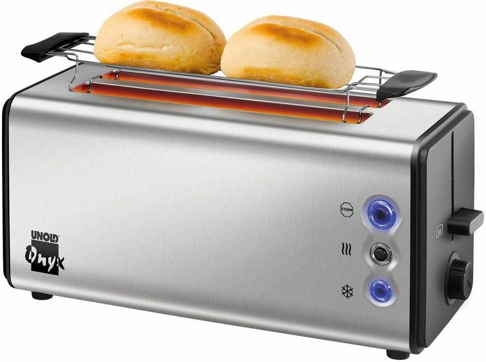 unold toaster onyx duplex 38915 2 lange schlitze f r 4 scheiben 1400 w online kaufen otto. Black Bedroom Furniture Sets. Home Design Ideas