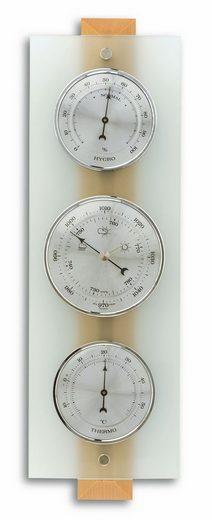 TFA Dostmann Analoge Wetterstation aus Glas