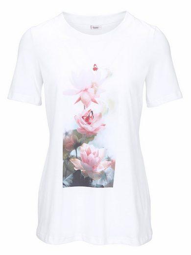 LINEA TESINI by Heine T-Shirt mit Blumenmotiv