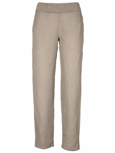 Linea Tesini By Heine Linen Trousers Cotton With Linen