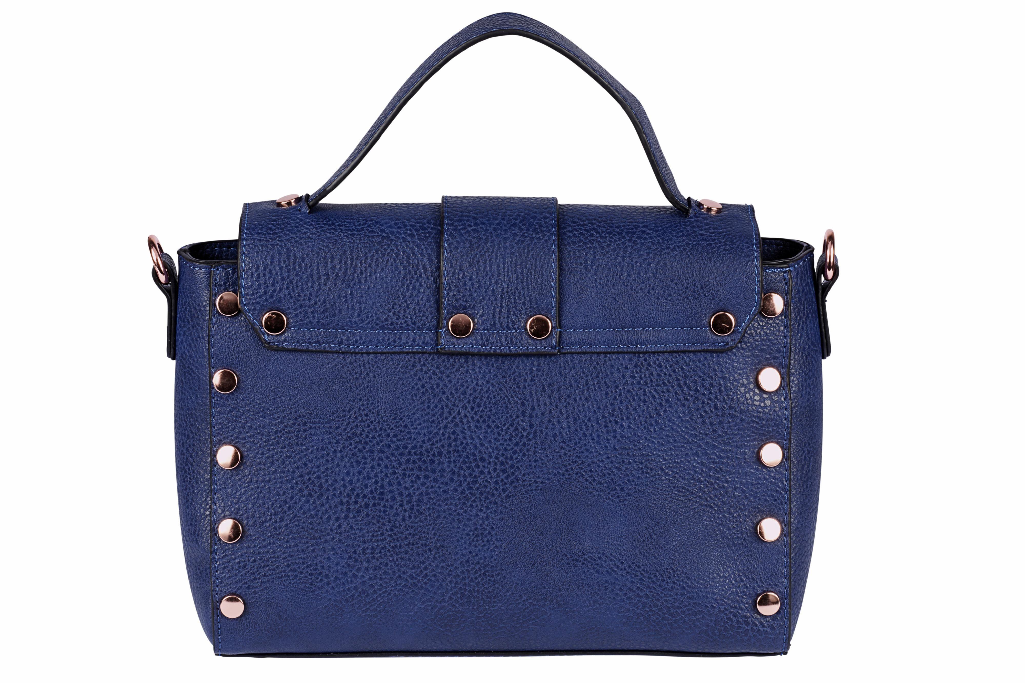 COLLEZIONE ALESSANDRO Tasche mit dekorativen Riemen