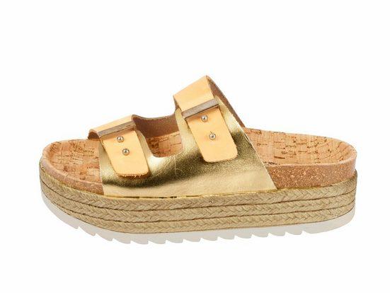 BIOSTEP Pantolette mit Kork-Fußbett