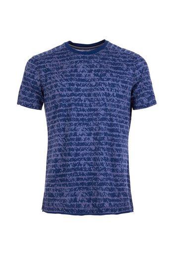Super.Natural Merino T-Shirt M WATERFRONT TEE PRINTED