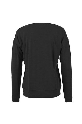 Super.Natural Merino-Longsleeve W VOYAGE SLASH NECK TOP
