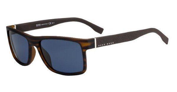 Boss Herren Sonnenbrille » BOSS 0830/S«, braun, 2Q7/KU - braun/blau