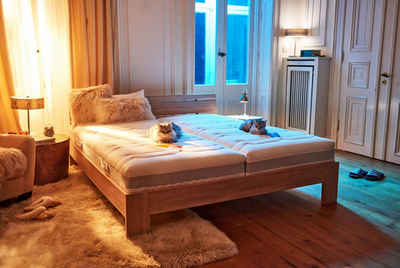 Taschenfederkernmatratze »Mabona T«, fan Schlafkomfort Exklusiv, 23 cm hoch, 544 Federn, Bekannt aus der TV-Werbung, mit Sommer- und Winterseite!