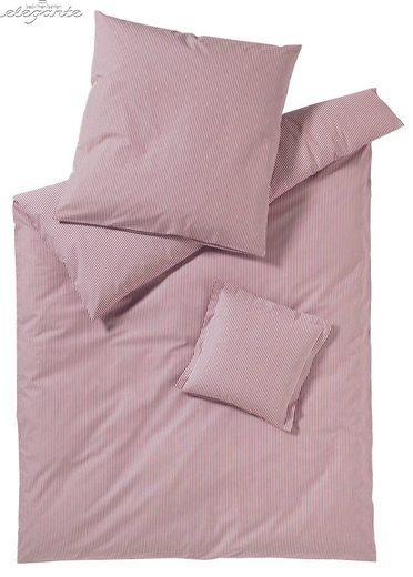 Bettwäsche »Classico«, Elegante, mit feinen Streifen