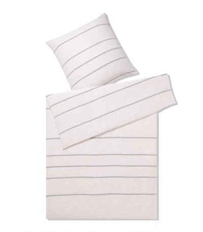 4b9f28dba32539 Bettwäsche »Relax«, Elegante, mit breiten Streifen