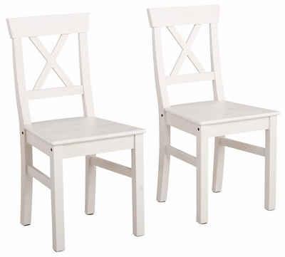 Holzstühle Weiß esszimmerstühle in weiß kaufen otto
