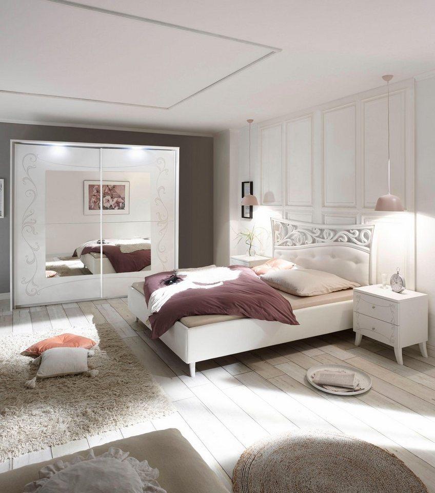 LC Schlafzimmer-Set (4-tlg.), Schwebetürenschrank in 2 Breiten zur Auswahl  online kaufen | OTTO