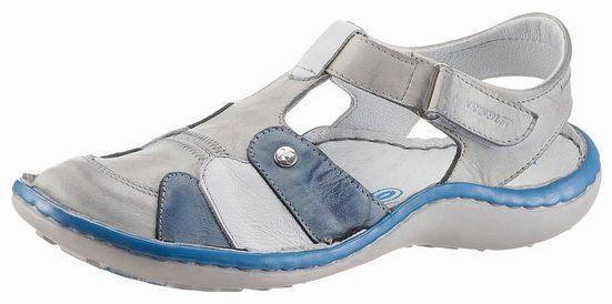 KRISBUT Sandale, mit Lederfußbett