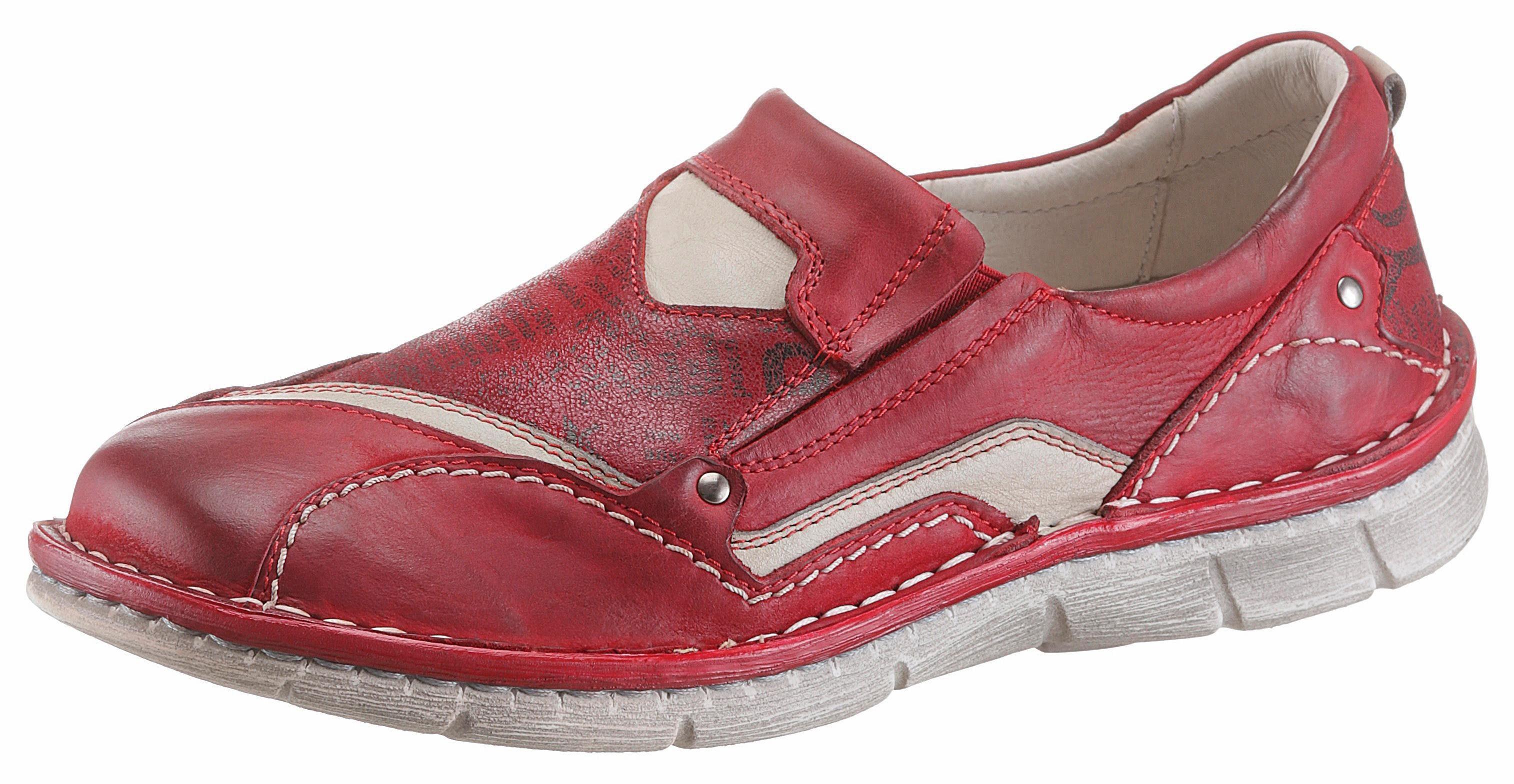 KACPER Slipper, im sportiven Design, rot, 36 36