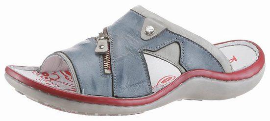 KRISBUT Sandalette, mit Zierreißverschluss