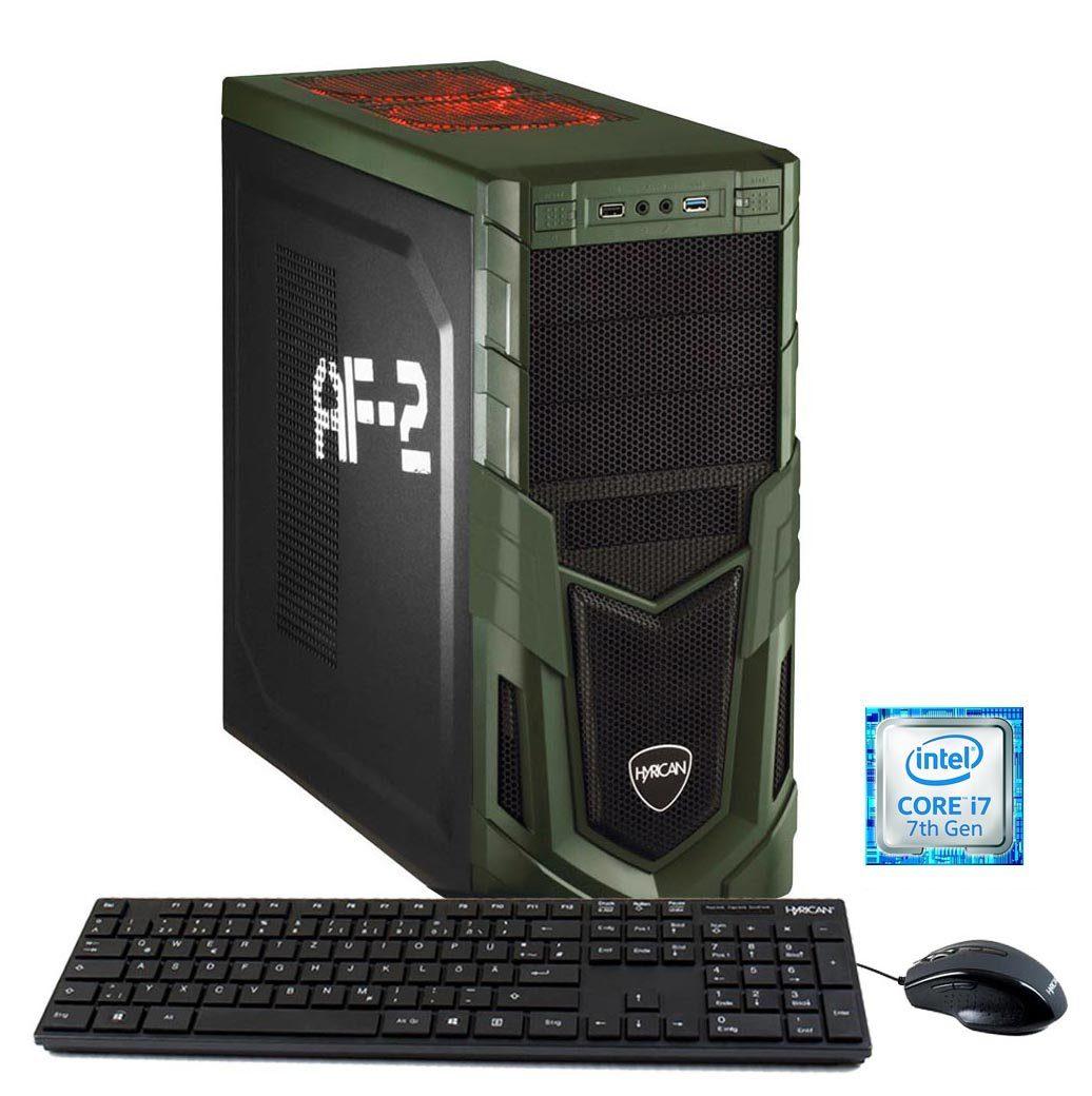 HYRICAN PC Intel® i7-7700K, 32GB, SSD+HDD, GeForce® GTX 1070 »Military Gaming 5719«