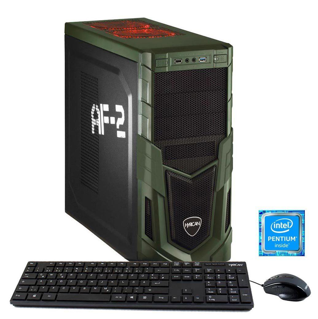 HYRICAN PC Intel® G4600, 8GB, 1TB HDD, GeForce® GTX 1050 Ti »Military Gaming 5716«