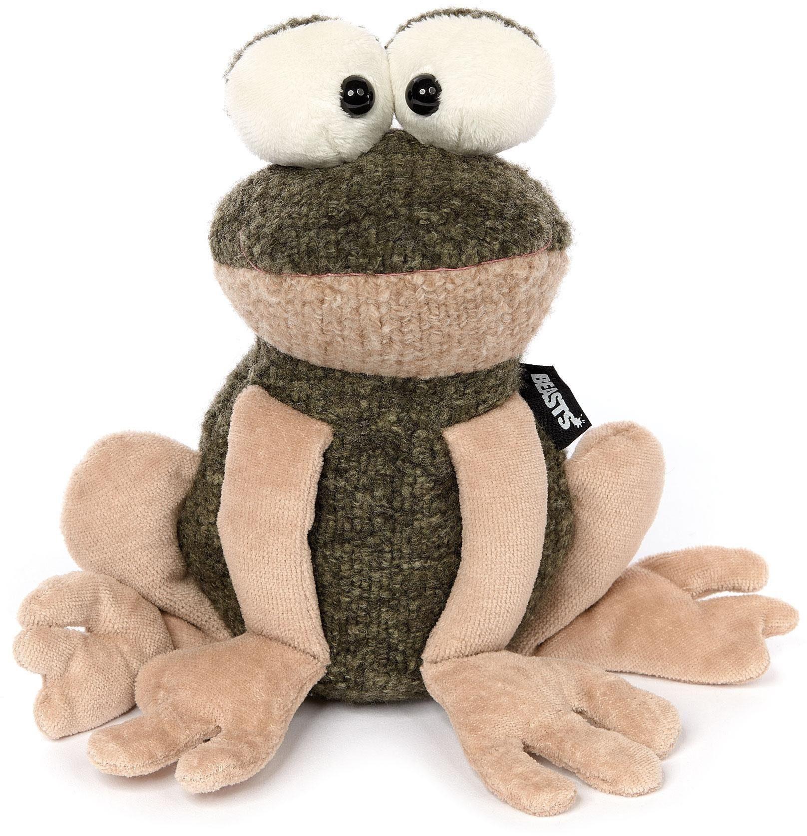 sigikid® Plüschtier, »Beasts - Frosch, I was frog«