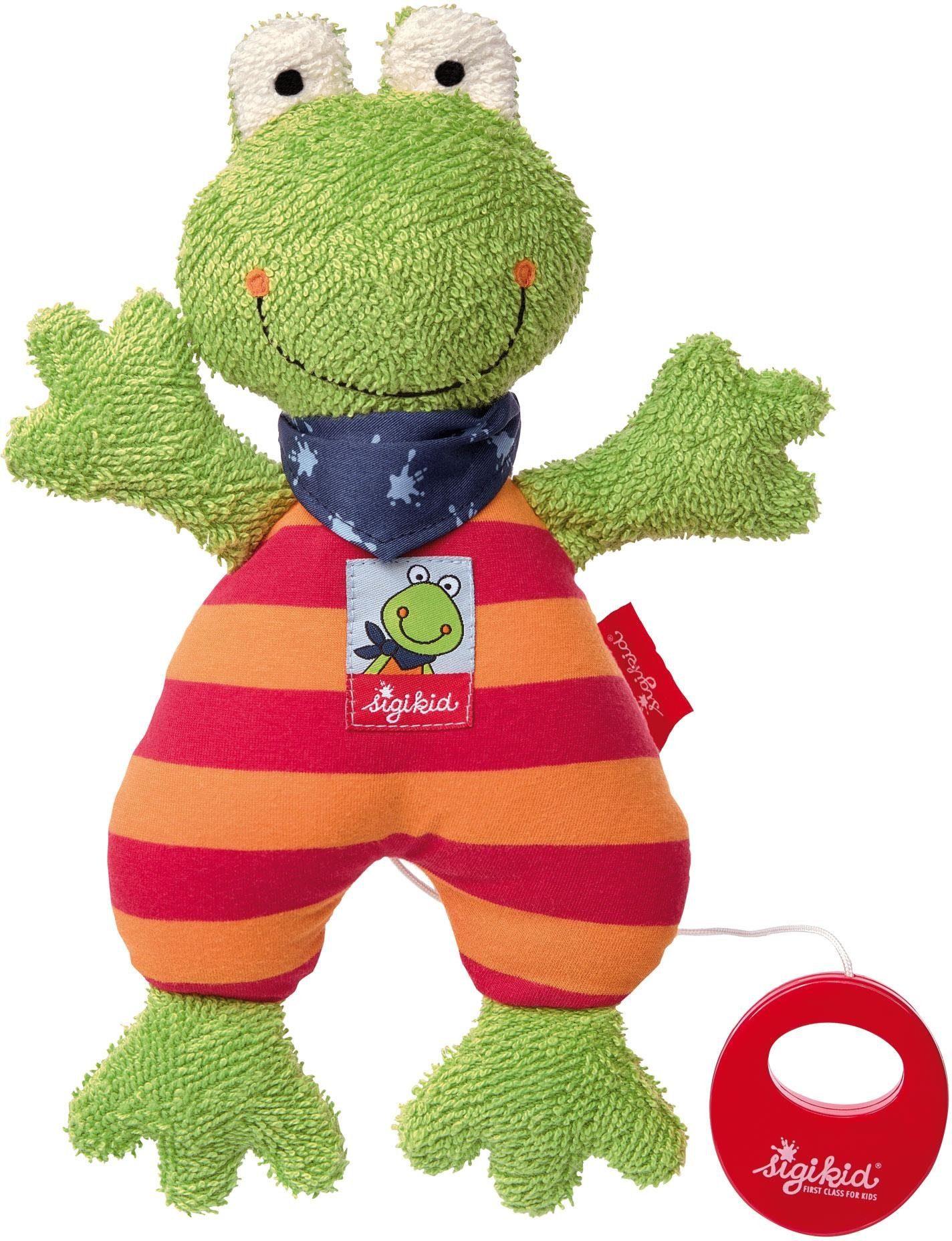 sigikid® Spieluhr Frosch, »Folunder Frog«