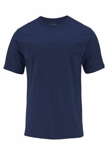 Herren Seidensticker Pyjama kurz Shorty mit Krawattendruck blau   04047067430964
