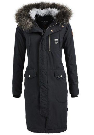 Khujo Winter Coat Romina Me Detachable Hood