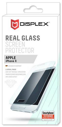 """Displex Folie »Displayschutzglas """"Easy-On"""" für Apple iPhone X«"""