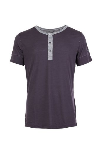 Super.Natural Merino T-Shirt M COMFORT HENLEY