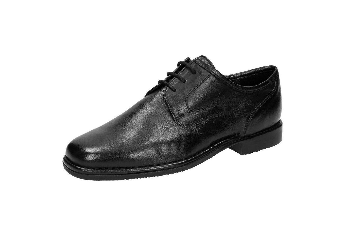 Herren SIOUX Houston-XL Schnürschuh schwarz   04040141008134