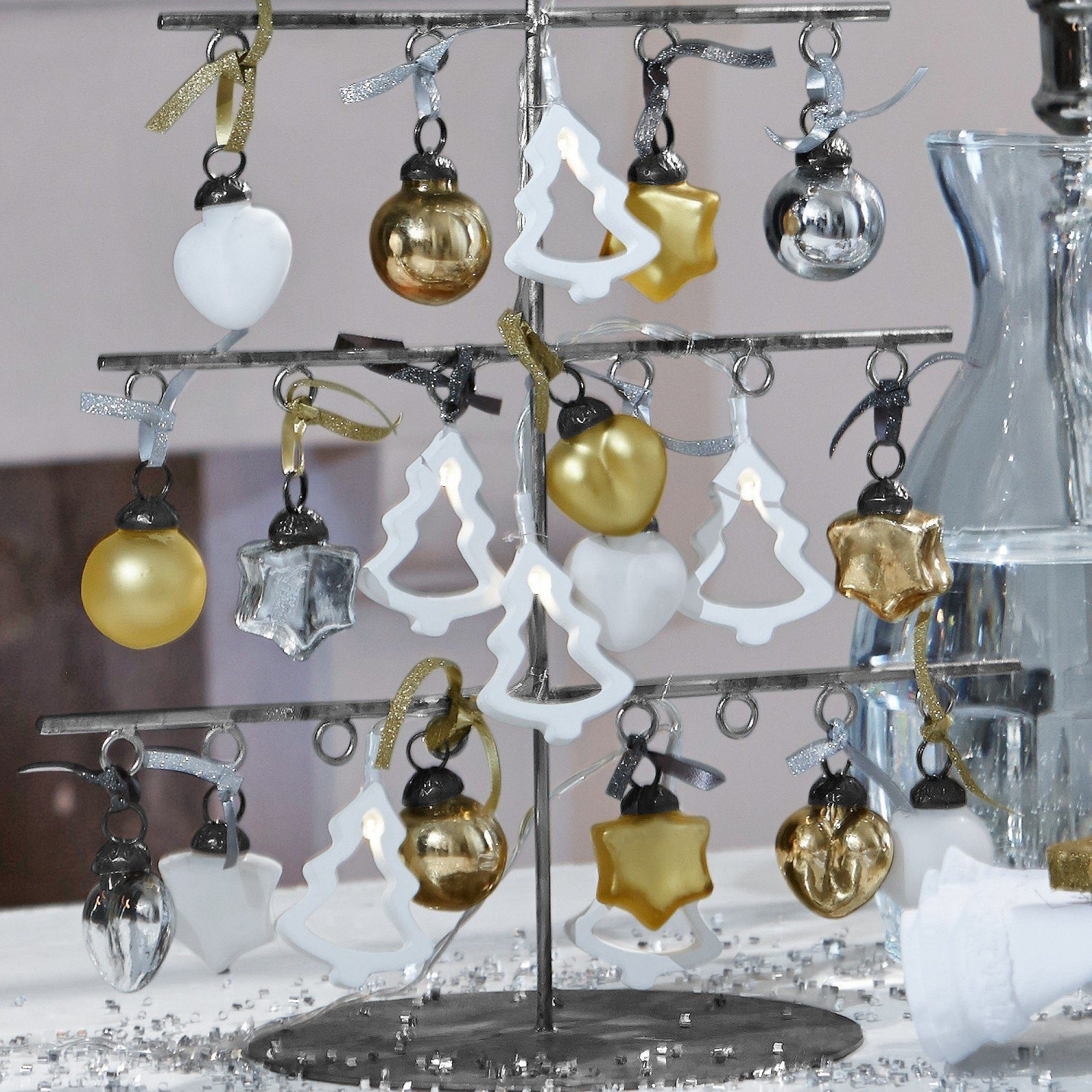 Loberon Weihnachtsschmuck 24er Set »Vanity«