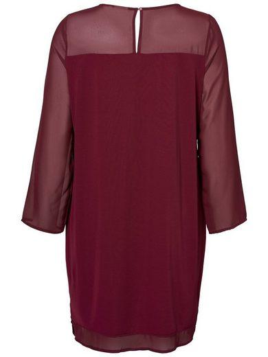JUNAROSE Langärmeliges Kleid