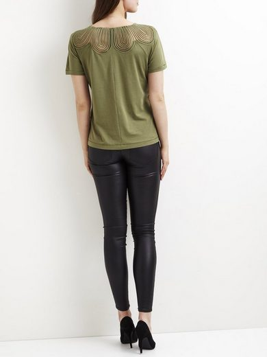 Vila Spitzendetail- T-Shirt
