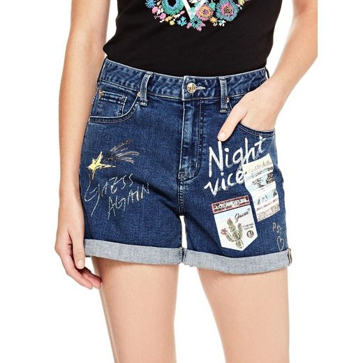 Guess Shorts Applications Patches