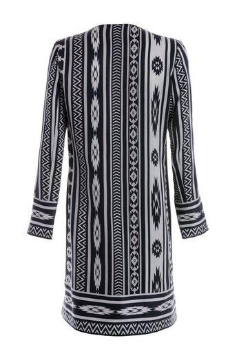 TUZZI Bedrucktes Kleid mit Ziersteinen