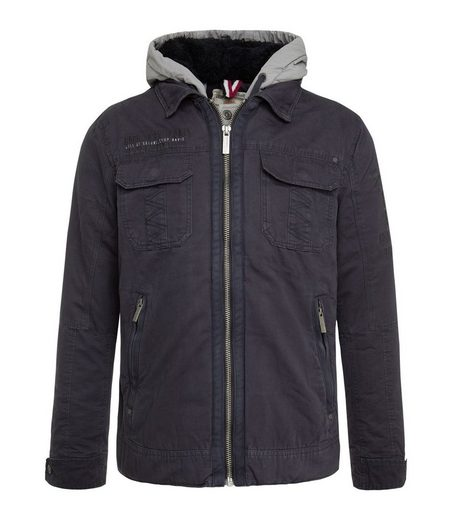 CAMP DAVID Canvasjacke