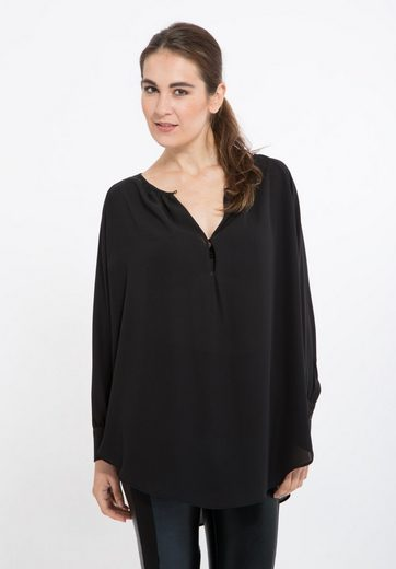 Mexx Chiffon Tunic, In A Line And Light Pleating
