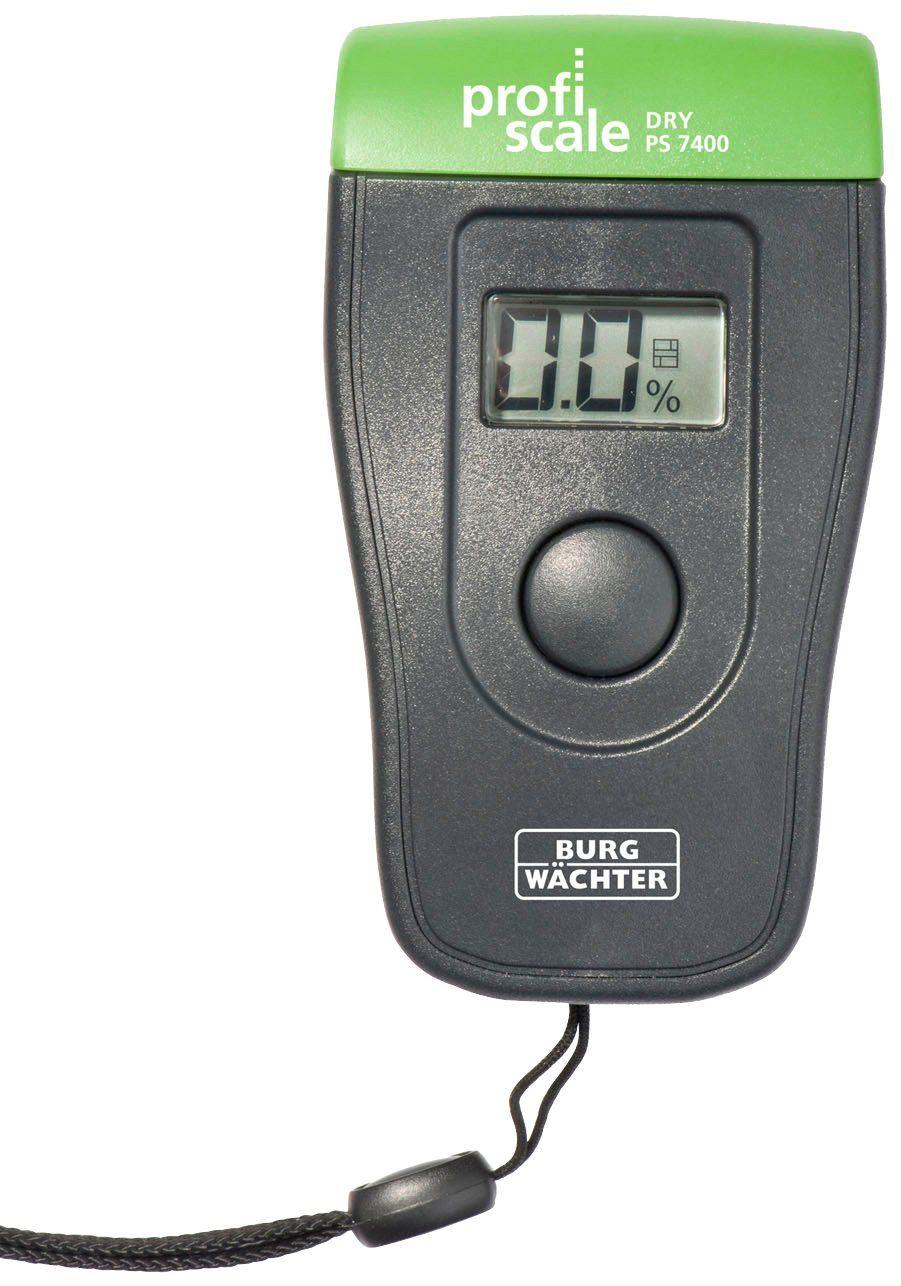 BURG WÄCHTER Feuchtemessgerät »DRY PS 7400«, inkl. Batterie und Tasche