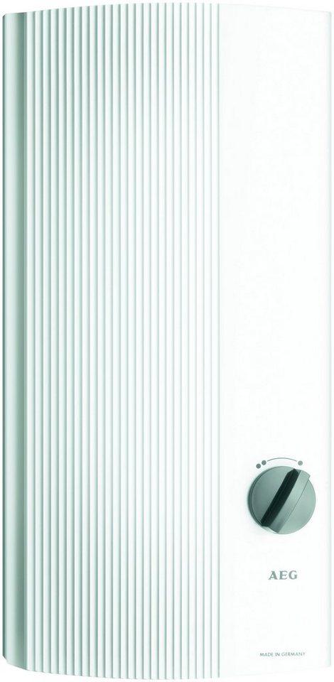 AEG Durchlauferhitzer »DDLT PinControl 21« | Baumarkt > Heizung und Klima > Durchlauferhitzer | AEG