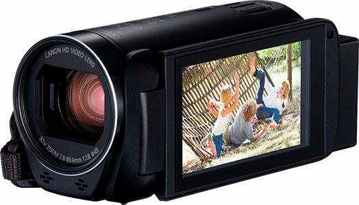 Camcorder - Canon »HF R86« Camcorder (Full HD, NFC, WLAN (Wi Fi), 32x opt. Zoom, Optischer Intelligent IS Zoom Assistent Bildprozessor DIGIC DV 4)  - Onlineshop OTTO