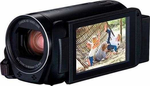 Canon HF-R86 schwarz 1080p (Full HD) Camcorder, WLAN, NFC