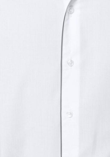 GUIDO MARIA KRETSCHMER Businesshemd, Knopfleiste mit Kontrastbesatz