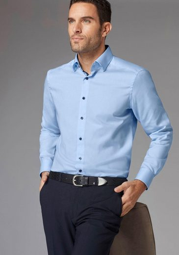 GUIDO MARIA KRETSCHMER Businesshemd, Under-Button-down-Kragen
