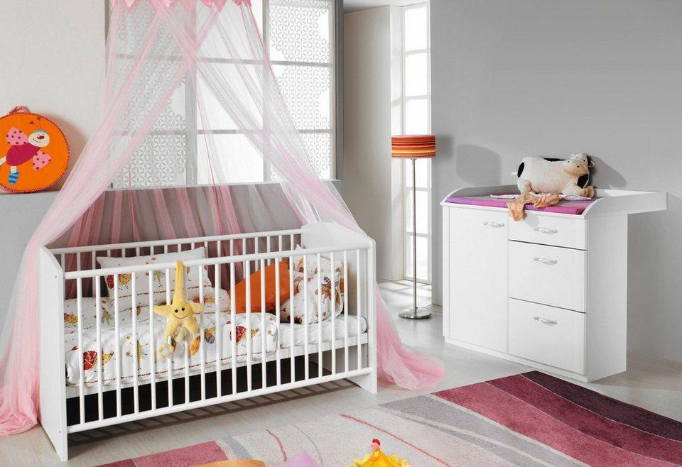 Babyzimmer Spar Set Amalfi Babybett Wickelkommode Online Kaufen