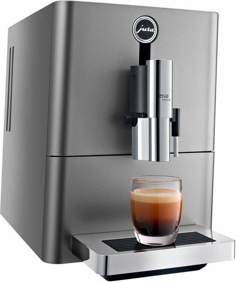 Jura Kaffeevollautomat 15196 ENA Micro 90 Dark Inox online kaufen | OTTO