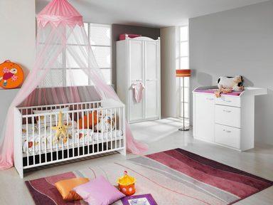 komplett babyzimmer amalfi babybett wickelkommode 2. Black Bedroom Furniture Sets. Home Design Ideas