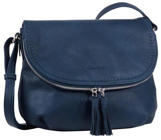 Zipper Umhängetasche Bag Tom Mit Quasten Tailor Am Modischen »lary« Crossbody 1wxCvzq6