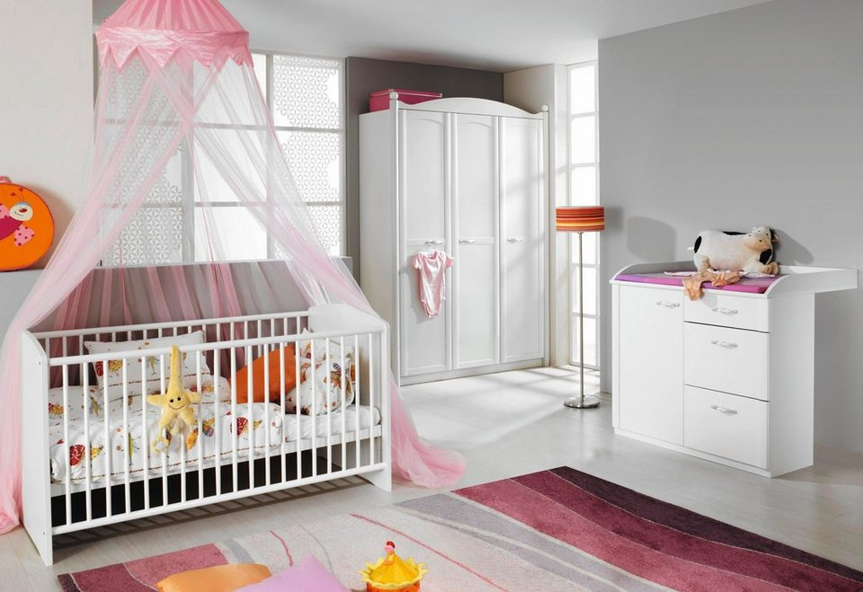 komplett babyzimmer amalfi babybett wickelkommode. Black Bedroom Furniture Sets. Home Design Ideas