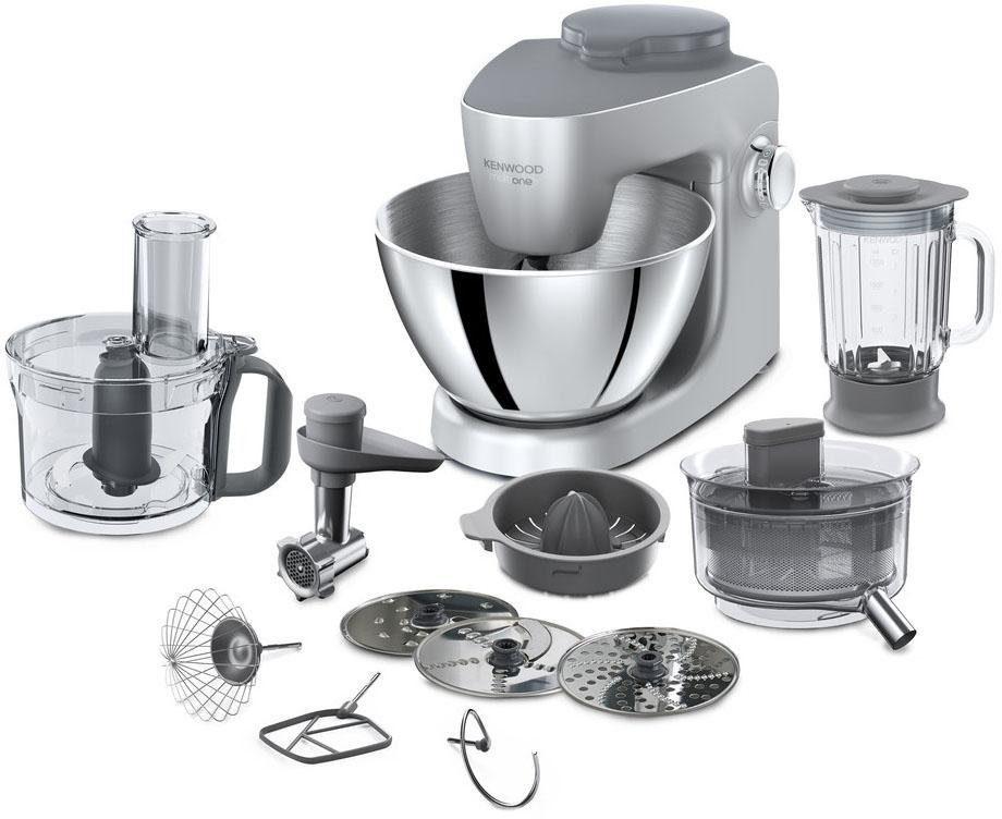 KENWOOD Küchenmaschine MultiOne KHH326 SI, 1000 W, 4,3 l Schüssel